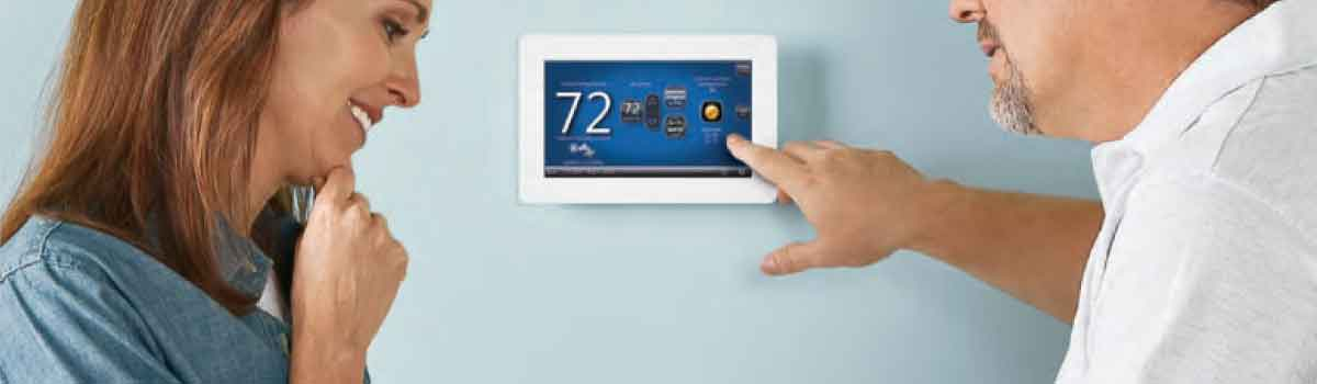 Start saving on home energy with a Comfort Sync thermostat.