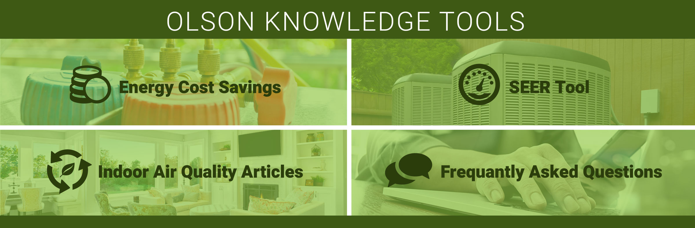Explore the Olson Knowledge Tools!